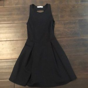 Black Ladder Back Dress